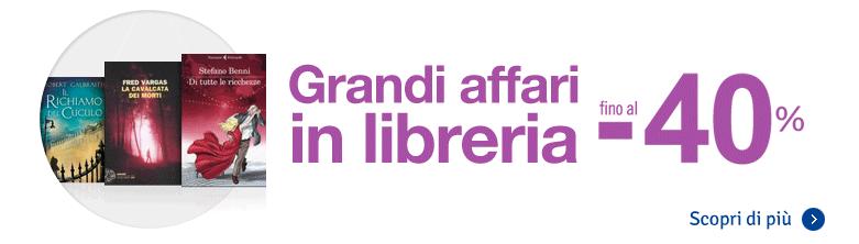 Mondadori store sconto 40 acquisto libri compra online for Libri acquisto online sconti